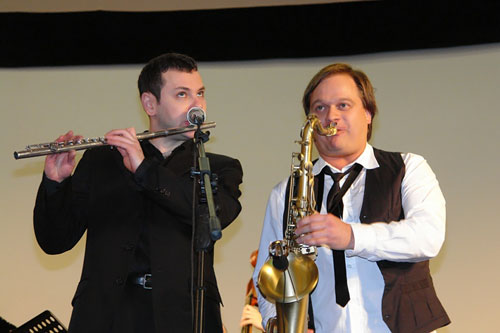 Джазовый фестиваль Весна в Суздале 2008: Владимир Нестеренко и Антон Румянцев